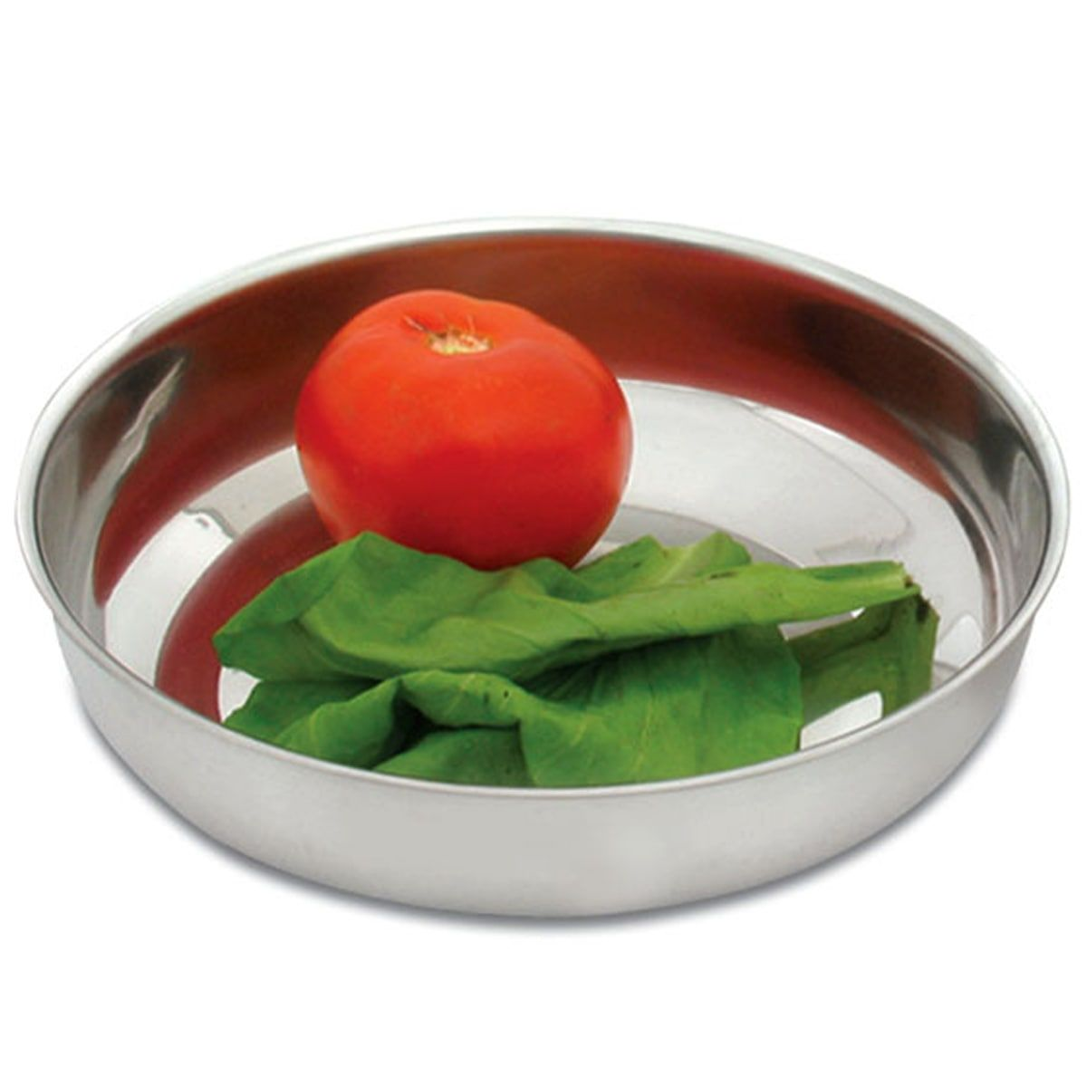 4 Saladeiras Inox Tigela Cozinha Saladas Bacia Refratário